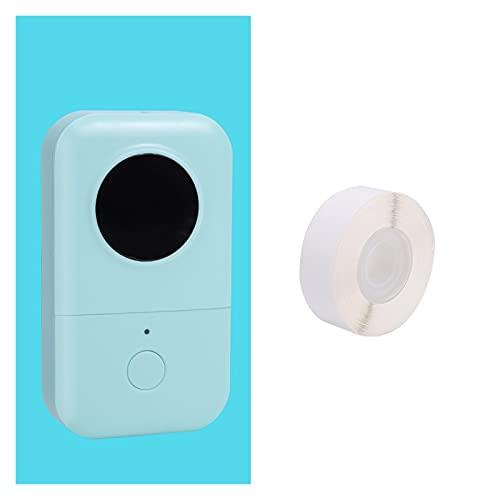 ASPZQ Impresora Etiquetas Phomemo D30, Impresora Térmica Portátil, Máquina Pegatinas Bluetooth Maker para Etiquetado Tienda Supermercado Escuela Ministerio Interior (Color : Green)