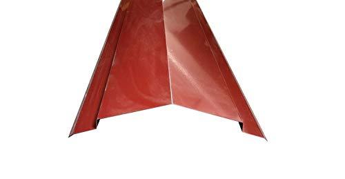 Onducolor Firsthaube (Stahl) rotbraun, 1260x185x185 mm