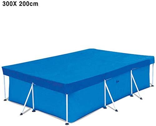 AXHSYZM Cobertor para Piscina Rectangular Piscinas Desmontable - Paño De La Piscina A Prueba De Polvo,400 * 211CM