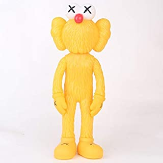Prototype KAWS Original Fake Dissected Companion Model Art Toys Action Figure Collectible Model Toy 11.8inch (30cm) (Yellow)