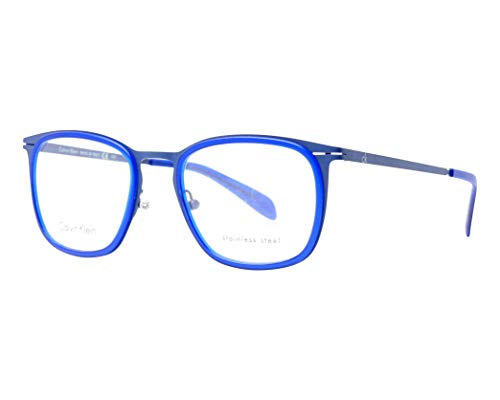 Calvin Klein Brille (CK-5416 502) Metall - Flexon - Plastik kristall blau - matt blau