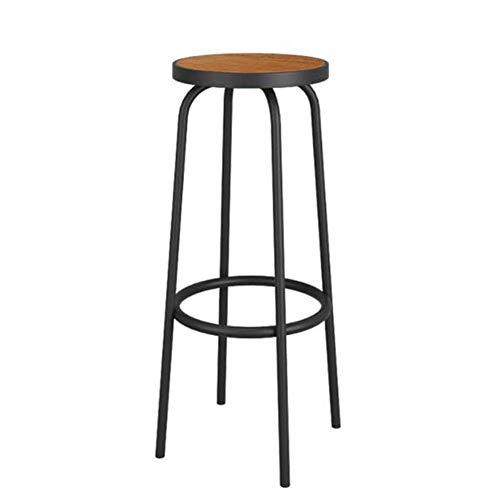 Sywlwxkq Barhocker Frühstückstheke Stühle Vintage Schmiedeeisen Restaurant Cafe Rezeption Hochstuhl Dessert Tee Shop Lounge Chair Küche Hausgartenmöbel