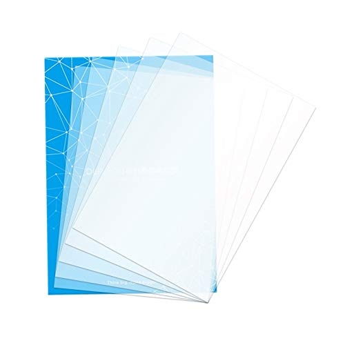 SOOWAY 140 * 200 mm FEP foglio pellicola per LCD DLP SLA 3D spessore 0.15 mm, FEP-5pcs, 5
