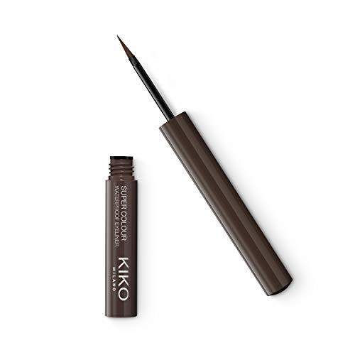 KIKO Milano Super Colour Waterproof Eyeliner 09 | Delineador de ojos líquido con color ultracubriente y resistente al agua