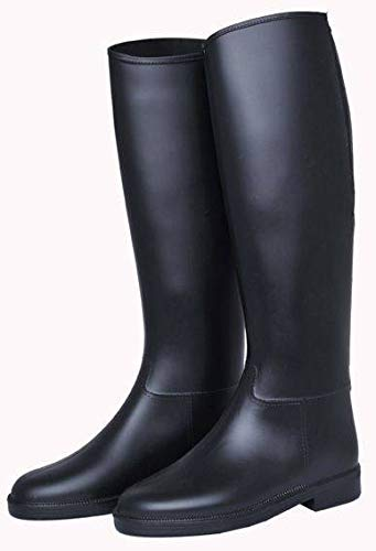 HKM Reitstiefel -Basic- Damen, Standard-Gr-39, schwarz
