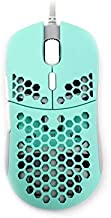 Hati HT-M 3360 Ultra Lightweight Honeycomb Shell Wired Gaming Mouse up to 12000 cpi - 6 Buttons - 2.18 oz (61g) (Vista Blue)