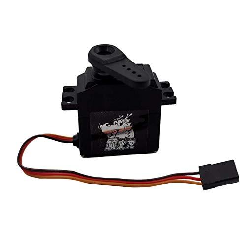 1:16 RC Accesorios 25G Servo de dirección con brazo para WPL Toys Car Truck Parts DIY