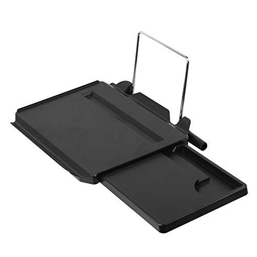 HuiHai - Mesa Multifuncional Universal para Coche, con cajón Plegable, para Ordenador o Escritorio, para Asiento de Coche, portátil, para Almacenamiento de Bebidas