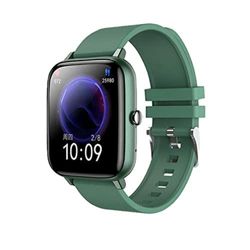 Smart Uhren Wasserdichte Schrittzähler.Smart Uhr Wasserdichte Sport Smartwatch Herzfrequenz-Tracking-Gerät Armbanduhr grün