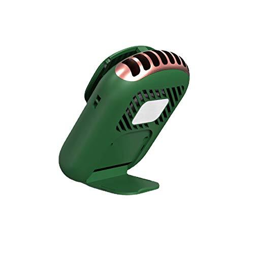 Mini ventilador portátil de mano con espejo de maquillaje, ventilador de maquillaje portátil con secador de pestañas espejo para oficina, hogar, viajes, al aire libre