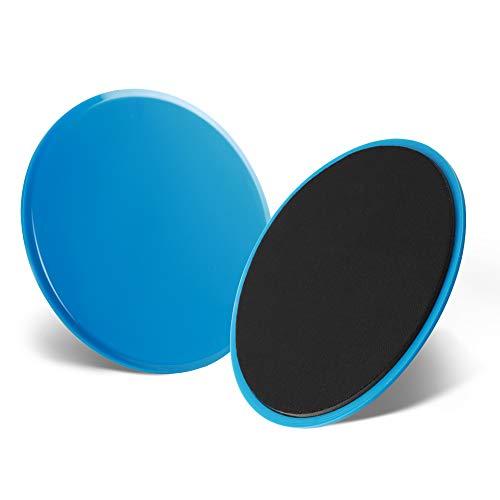 SUUCARE Core Sliders, Dual Sided Workout Sliders, 2 Pack Beachbody Slider Discs, Ab Gliders Discs for Carpet, Hardwood & Floors, Exercise Equipment for Burn Fat, Improve Balance