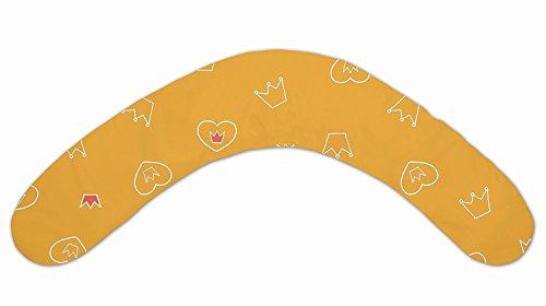 DoDo Pillow Stillkissen inkl. Bezug 76 Krönchen orange