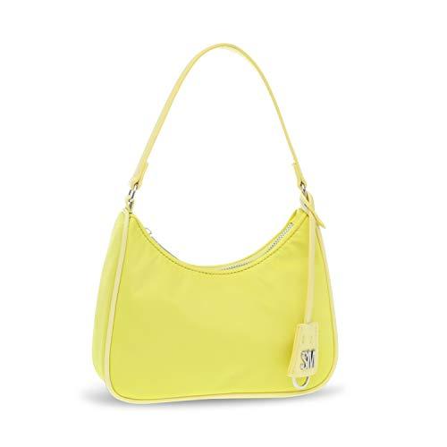 Steve Madden Paula Nylon Shoulder Bag, Yellow