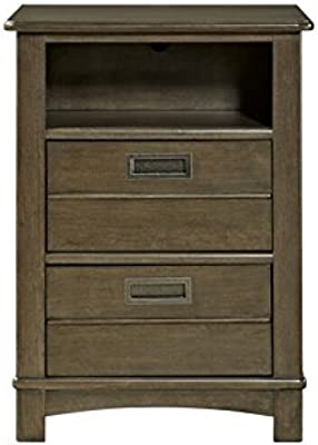 cac7d58e462 Amazon.com  Prepac Black Sonoma 2 Drawer Nightstand  Kitchen   Dining