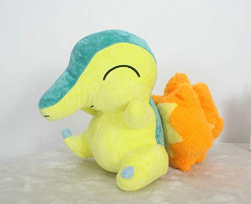 Juego de Anime Pokemon Series Flame Rata Muñeca Doll Cumpleaños Juguete 28 cm, Niños Cumpleaños Laimi