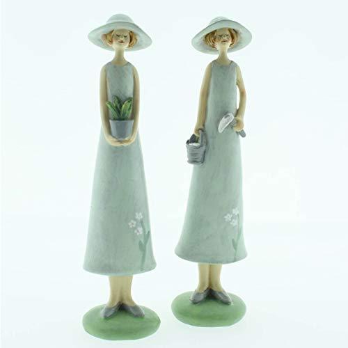 Glücksgriff Dekor | Garten Figuren Deko | Gartenkinder | Vintage | H19 cm