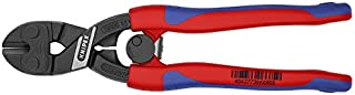KNIPEX Tools 71 12 200, Comfort Grip High Leverage Cobolt Cutters with Opening Lock and Spring
