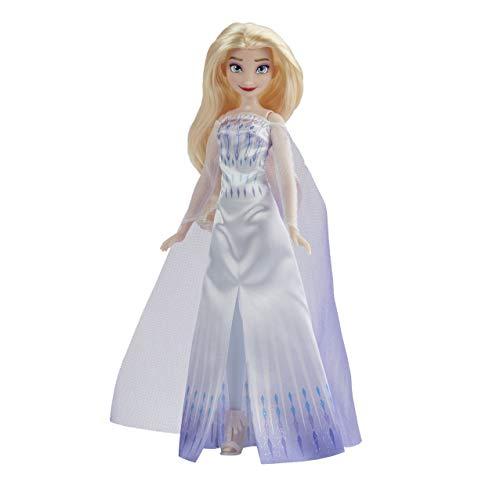 Hasbro Frozen-Hasbro Disney Frozen Elsa Regina delle Nevi-Fashion Doll, Abito, Scarpe e Lunghi Capelli biondi, Giocattolo per Bambini dai 3 Anni in su, F1411