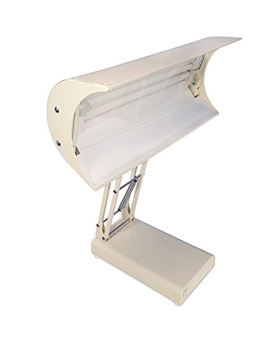 Northern Light 10,000 Lux Light Therapy Desk Lamp, Beige