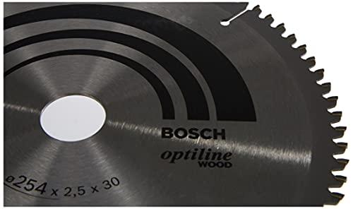 Bosch Pro Kreissägeblatt Optiline Wood zum Sägen in Holz für Kapp- und Gehrungssägen (Ø 254 mm) - 4