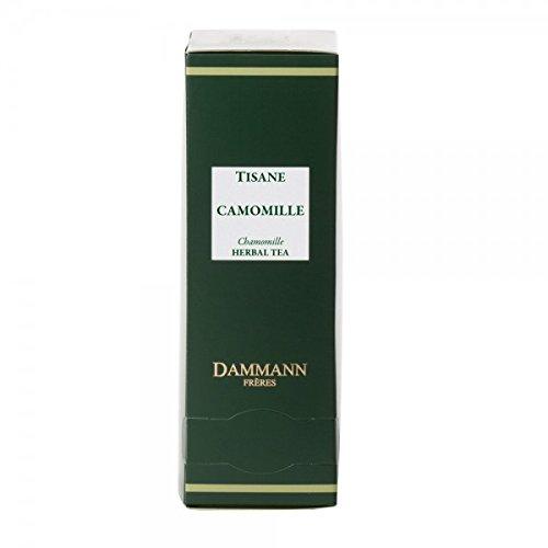 Dammann Freres Tee - CHAMOMILE / Kamille Tee - 24 Cristal Teabags