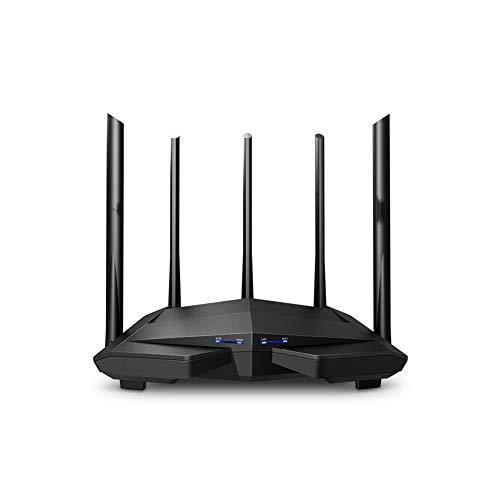 Router Wifi inteligente Ac11, módem gigabit, banda dual, wifi, amplificador de internet, velocidad inalámbrica, 2.4g / 5g, punto de acceso inalámbrico de 1200mb, firewall incorporado, común a todos lo