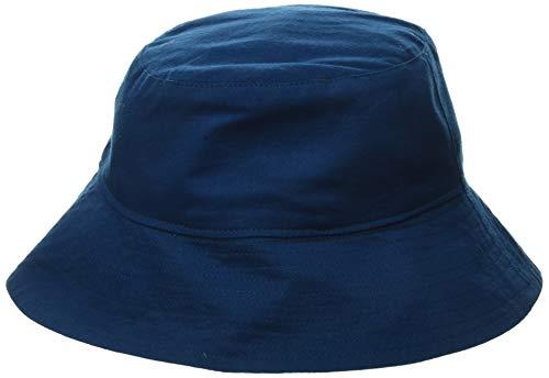 Hatley Boy's Reversible Sun Hats, Blue (Bluegreat White Shark 400), Large (Size:Large)