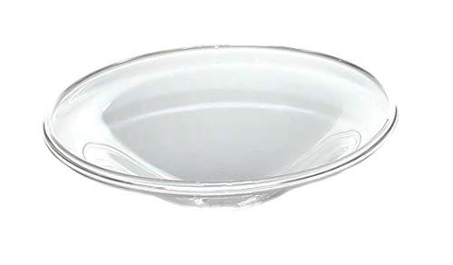 Budawi Glas Ersatzschale für Duftlampen/Aromalampen Ø ca. 8 cm, Ersatzglas, Glasschale