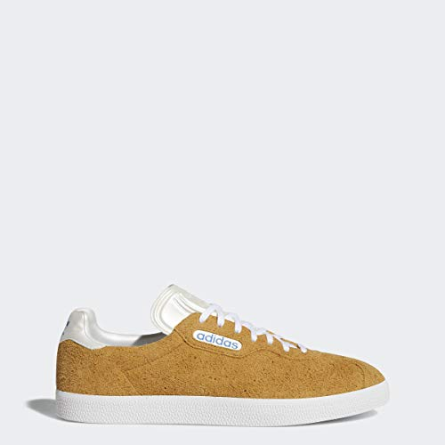 adidas x Alltimers Gazelle Super (Mesa/Chalk White/Blue) Men's Skate Shoes-11