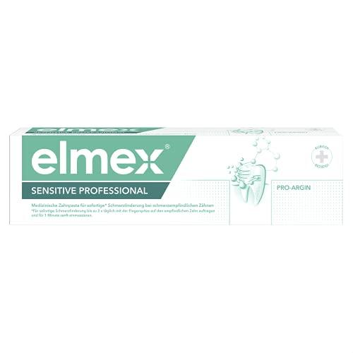 Elmex Zahnpasta SENSITIVE PROFESSIONAL, 1 x 75 ml - Zahncreme bei schmerzempfindlichen Zähnen