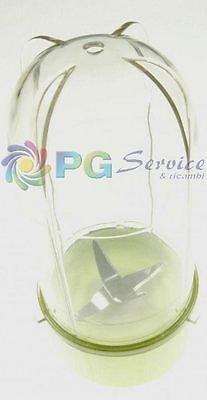 Ariete Glas Behälter Groß Mit Klinge Grün Zerkleinerer Choppy Magic 1824