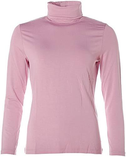 JETTE Joop Basic Langarm Shirt Rollkragen 38 Mauve Rose