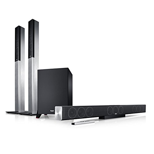 Teufel Cinebar Trios Easy 5.1-Set L Titan Heimkino Lautsprecher 5.1 Soundanlage Kino Raumklang Surround Subwoofer Movie High-End HiFi Speaker