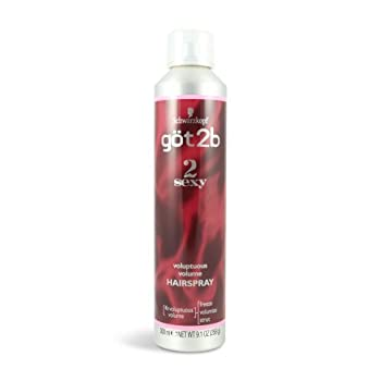 got2b 2 Sexy Voluptuous Volume Hairspray 9.10 oz