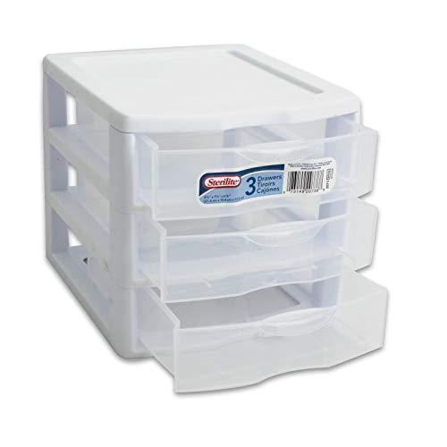 sterilite small 3 drawer unit - 2