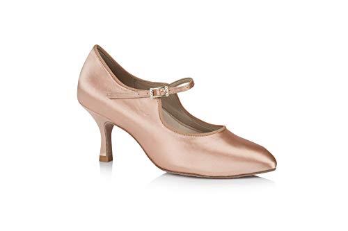 Freed of London Rita, Zapatillas de Baile para Mujer, Carne, 34.5 EU