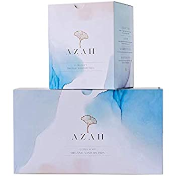 Azah Rash-free Organic Sanitary Pads (Box of 40 Pads: All XL- Without disposal bags)