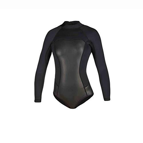 Mystic Watersports - Surf Kitesurf & Windsurfen Damen Diva Black Series 2mm Back Zip 2mm Super Shorty Neoprenanzug