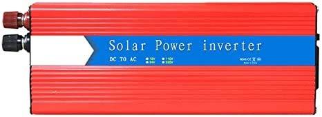3000W Energy Inverter Pure Sine Wave 12V DC a 220V CA Convertidor de AC Inversor de automóvil con un puerto USB, se puede conectar directamente a la batería del automóvil, Peak Power 6000 WATT para au
