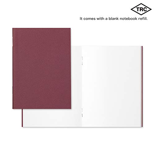 Midori Traveler's Notebook - Starter Kit, Camel (Passport Size) Photo #3
