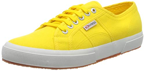 Superga Classic, Zapatillas para Mujer, Amarillo (Yellow Sunflower 176), 41.5 EU
