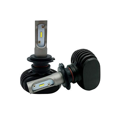 LEDKIA LIGHTING HB3 15W LED lampen set voor auto's en motors Koel wit 6000K