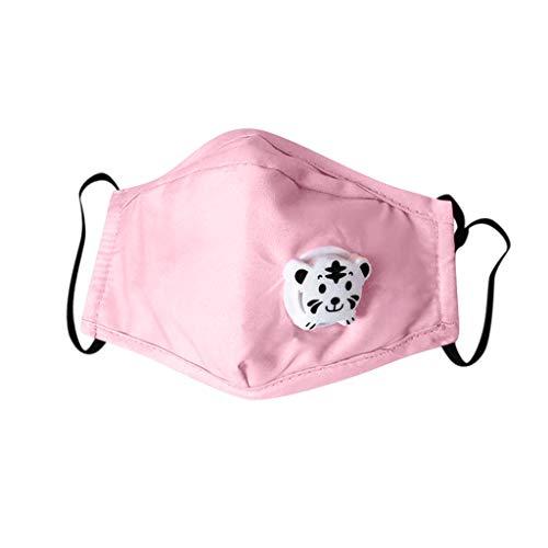 Amazing Deal JIUDASG 6PCS Kids Boys Girl Face Cotton Washable Adjustable Cartoon Face Bandanas with ...