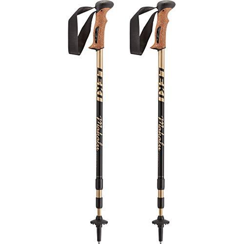 LEKI Makalu Bâton de Trekking Noir Taille 110-145 cm