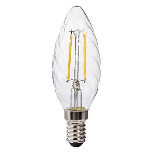 Xavax 001126042.5W E14A + + warmweiß–LED-Lampe (warmweiß, transparent, A + +, 11Ma, 3kWh, 3,5cm