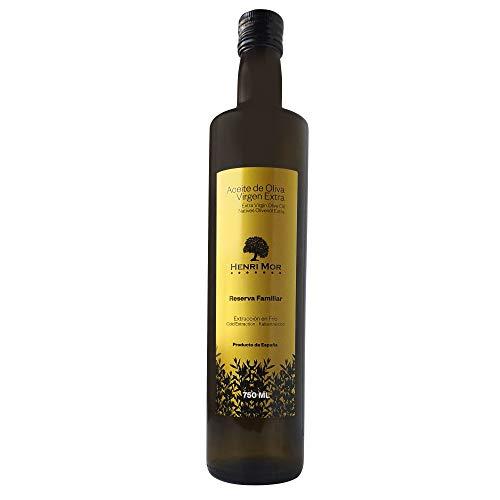 HENRI MOR Aceite de Oliva Virgen Extra 750ml Nueva Cosecha Extracción en Frío 100% Natural
