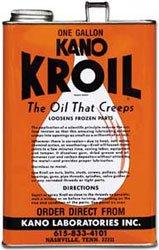 Kroil Original Penetrating Oil 1 Gallon Liquid  KanoLab Kroil