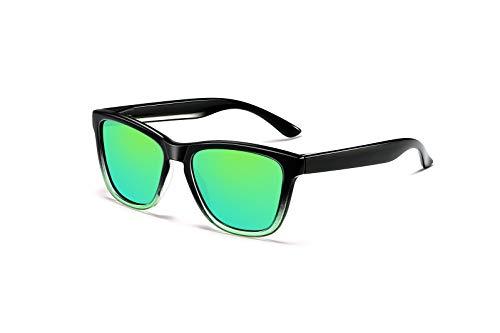 Skevic Gafas de Sol Polarizadas Hombre Mujer - Gafas para Ciclismo, Running,...