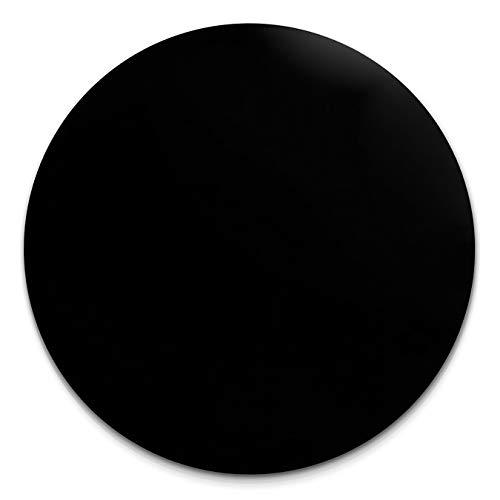 Amello Coins Edelstahl-Schmuck, Coin Edelstein Onyx schwarz - Coin für Amello Coinsfassung für Damen - Edelstahlschmuck Stainless Steel ESC707S