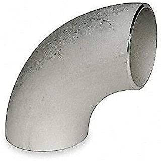 90 Deg,4 in,304L Stainless Steel, S2044LE040 SMITH-COOPER Elbow